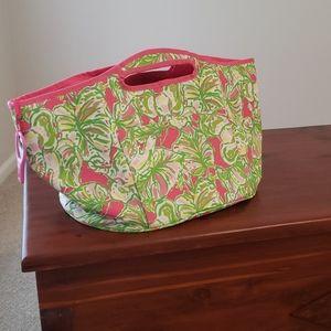 Lilly Pulitzer Cooler/ Beach Bag